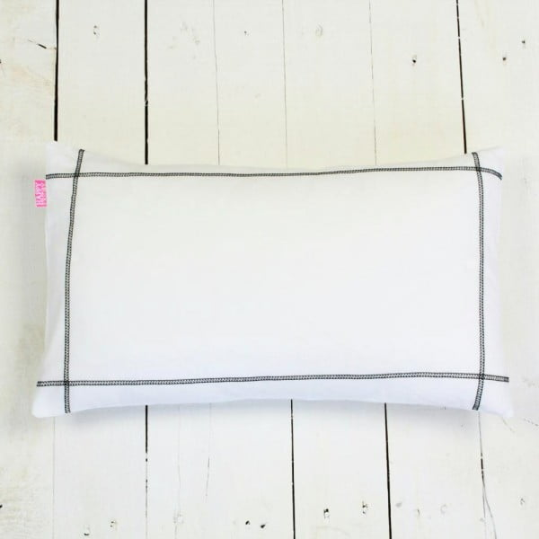 Povlak na polštář Basic Black, 50 x 30 cm
