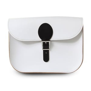 Kabelka Full Pint Buckle White & Black