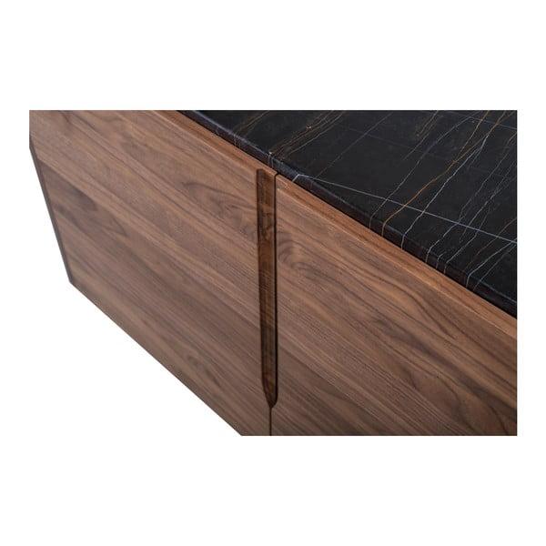 Komoda z ořechového dřeva s mramorovou deskou Wewood - Portuguese Joinery Panamá