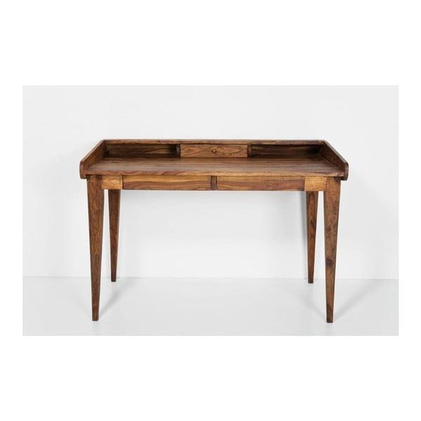 Pracovní stůl z exotických dřevin Kare Design Authentico