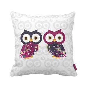 Polštář Owls, 43x43 cm