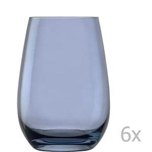 Sada 6 světle modrých sklenic Stölzle Lausitz Elements, 465ml