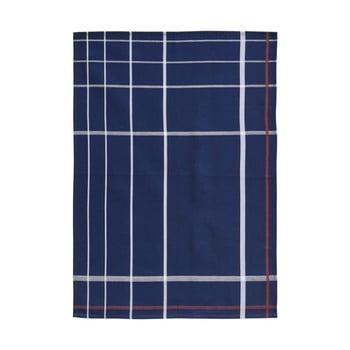 Prosop din bumbac pentru bucătărie Zone Garro, 50 x 70 cm, albastru deschis de la Zone