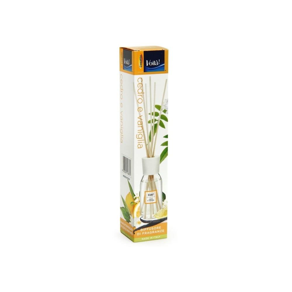 Vonný difuzér s vůní cedrového dřeva a vanilky Cosatto Perfume