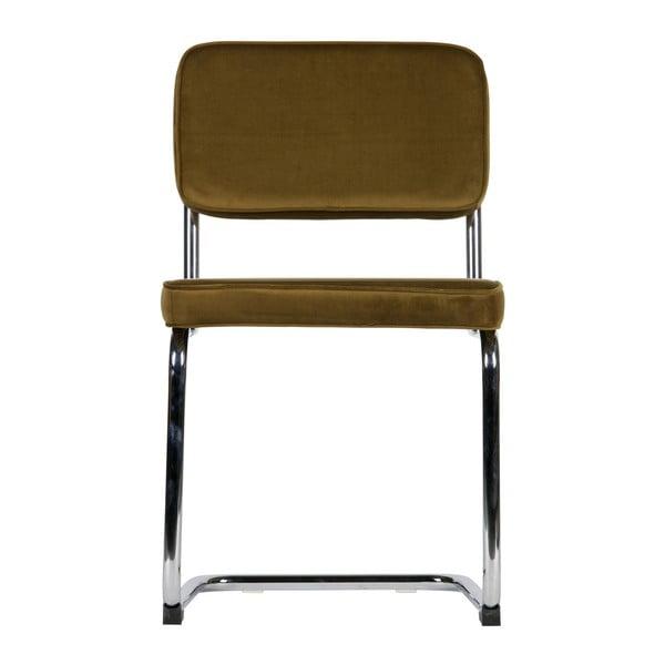 Sada 2 hnědých židlí WOOOD Lien