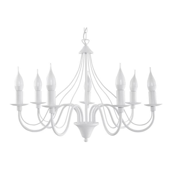 Lustră Nice Lamps Floriano 7, alb