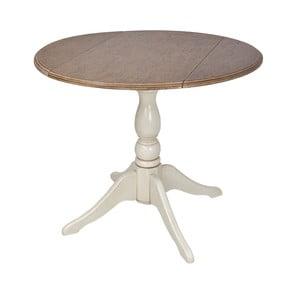 Jídelní stůl ze dřeva kaučukovníku Livin Hill Limena,Ø92cm