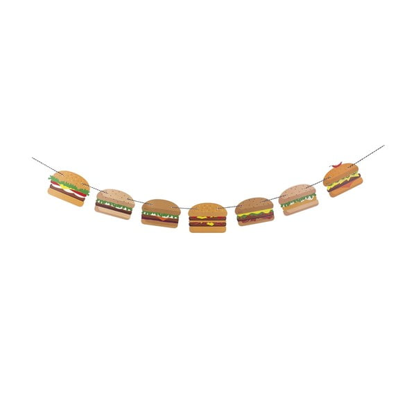 Dekorace Yummy Burger