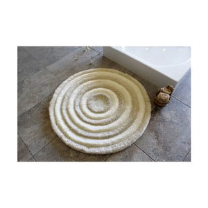 Covoraș de baie Confetti Bathmats Ecru, Ø 90 cm, maro deschis