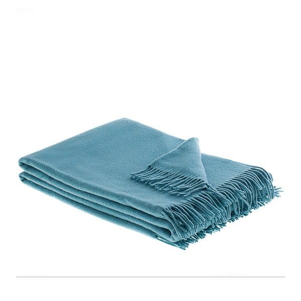 Vlněný pléd Marco 130x200 cm, modrý