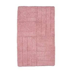 Růžová koupelnová předložka Zone Classic, 50x80cm