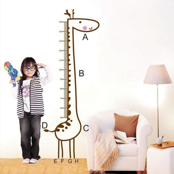 Dekorativní samolepka Giraffe Draw, 160x59 cm