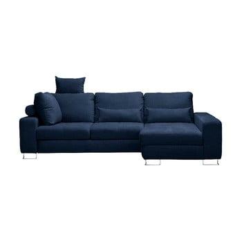 Canapea colţar Windsor & Co Sofas Alpha, partea dreaptă, albastru închis de la Windsor & Co Sofas