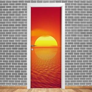 Samolepka na dveře LineArtistica Tramonto, 80 x 215 cm
