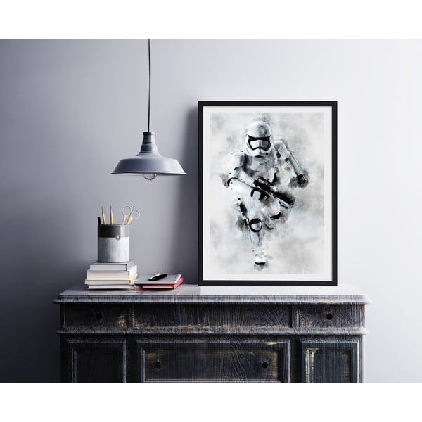 Poster Blue-Shaker Star Wars 77, 30 x 40 cm