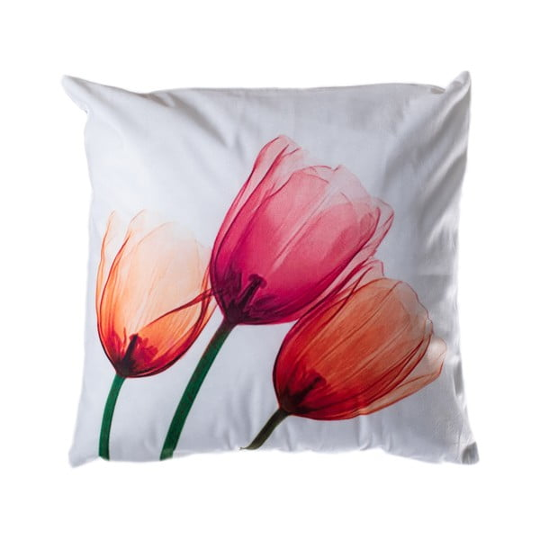 Pernă JAHU Orange Tulip, 45 x 45 cm