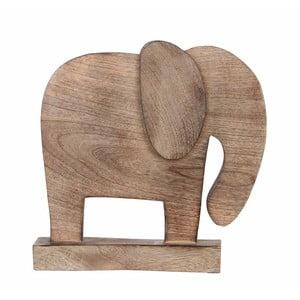 Dřevěná dekorace ve tvaru slona Mica Sculpture