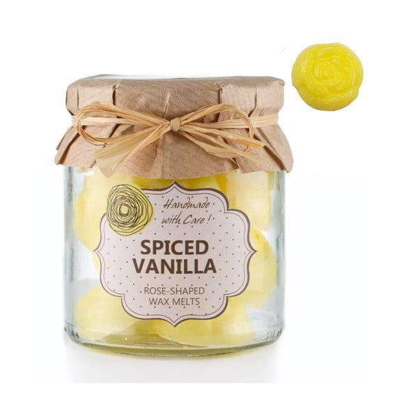Sada 18 malých vonných svíček Spiced Vanilla