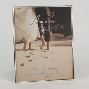 Rámeček na fotografii Amore Mr. and Mrs. Wedding, profotografii10x10cm