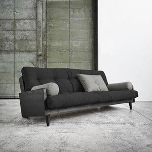Canapea extensibilă Karup Indie Black/Dark Grey/Granite Grey