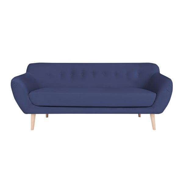 Modrá třímístná pohovka BSL Concept Eleven