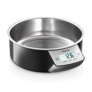 Kuchyňská váha Sencor 4030, stříbrná