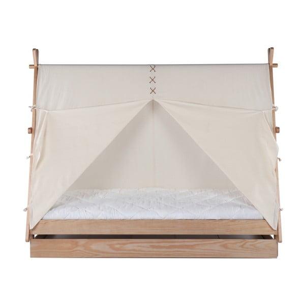 Dětská postel z borovicového dřeva BLN Kids Apache, 200x90cm
