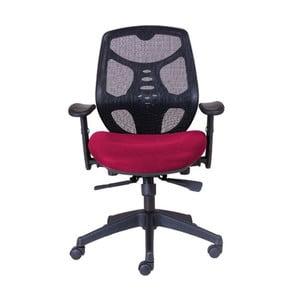 Kancelářské křeslo Norton L, tmavě červené