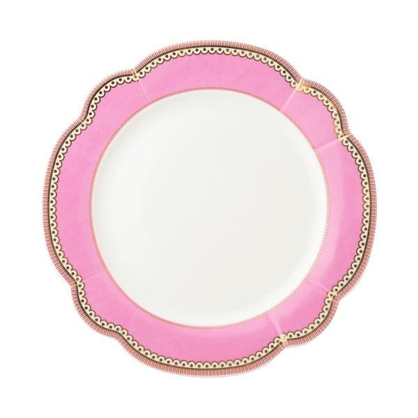 Porcelánový talíř  Rosie od Lisbeth Dahl, 19 cm, 4 ks