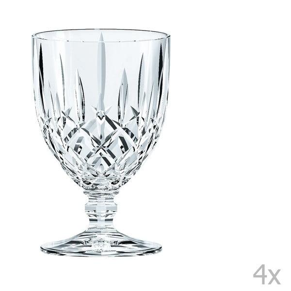 Zestaw 4 kieliszków ze szkła kryształowego Nachtmann Noblesse Goblet Tall, 350 ml