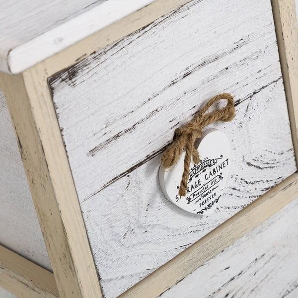 Komoda se šuplíky Coeurs, 71x49 cm