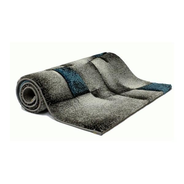 Modrošedý koberec Universal Malmo, 140x200cm