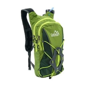 Zelený batoh spitným vakem Cattara Hike, 10l+2l