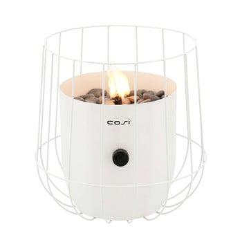 Lampă pe gaz Cosi Basket, înălțime 31 cm, alb