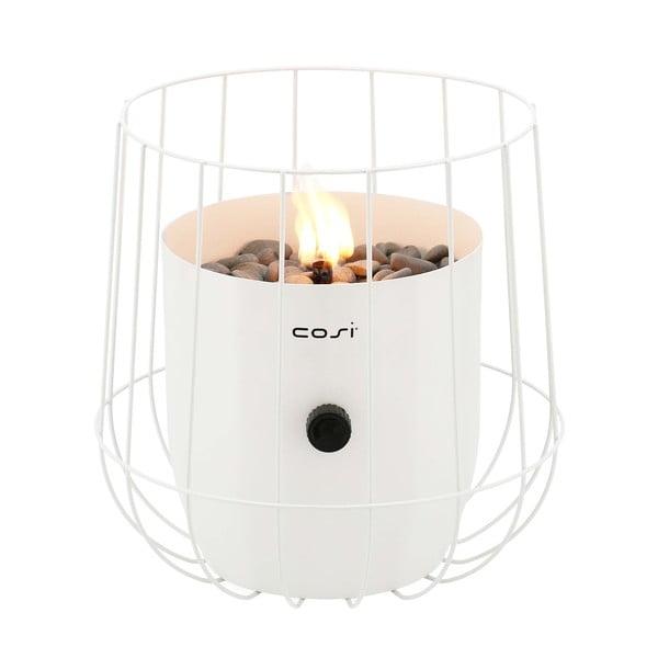 Lampă cu gaz Cosi Basket, înălțime 31 cm, alb