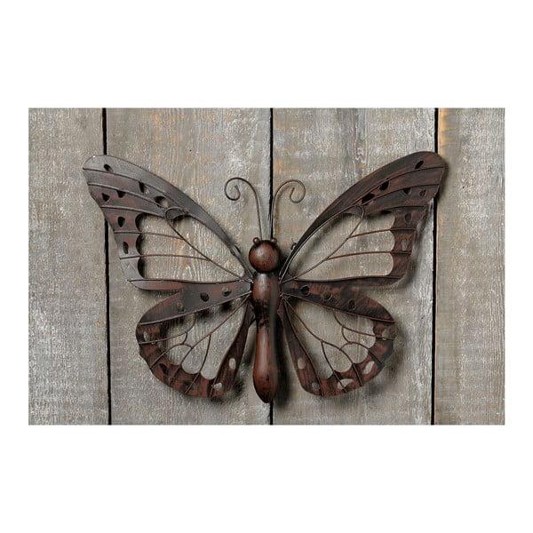 Nástěnná dekorace Butterfly Iron