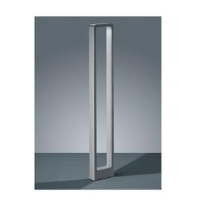 Světle šedé venkovní stojací svítidlo Trio Reno, výška100 cm