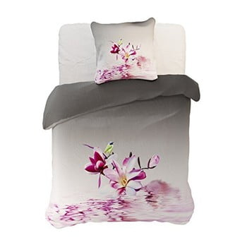 Lenjerie de pat din microfibră pentru pat dublu DecoKing Malina, 200 x 220 cm de la DecoKing