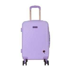 Fialový příruční kufr LULU CASTAGNETTE Rachel, 44l