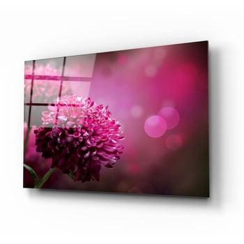 Tablou din sticlă Insigne Flower II.