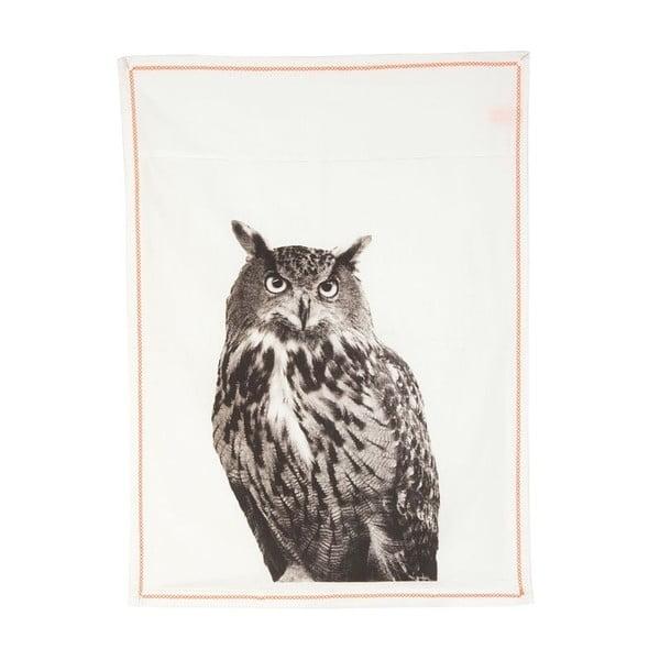 Kuchyňská utěrka Plain White Owl, 50x70 cm