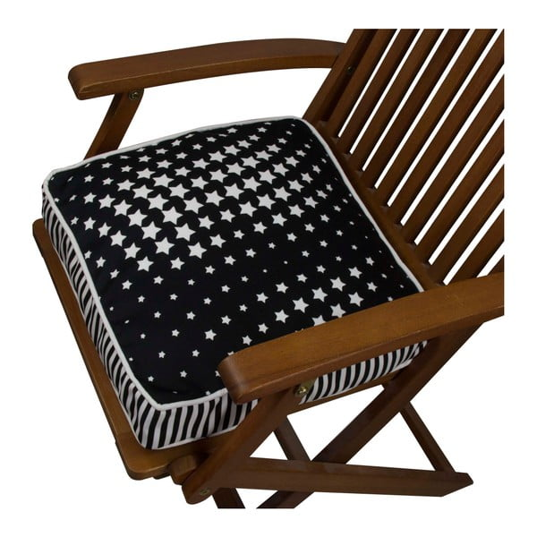 Pernă pentru scaun Gravel Star Wave Dark, 42x42cm,cuumplutură