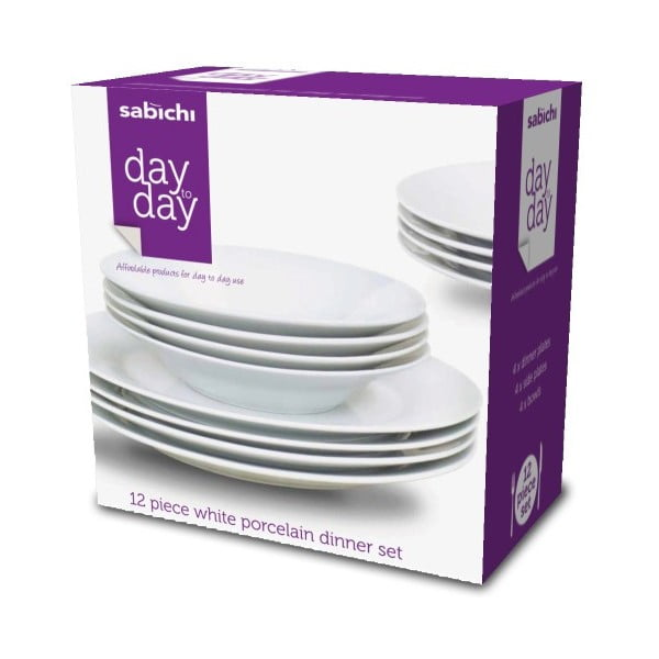 12dílná sada nádobí Sabichi Day to Day