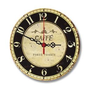 Nástěnné hodiny Café Paris, 30 cm