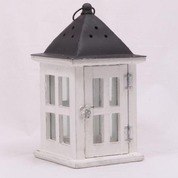 Dřevěná lucerna Little Cabin