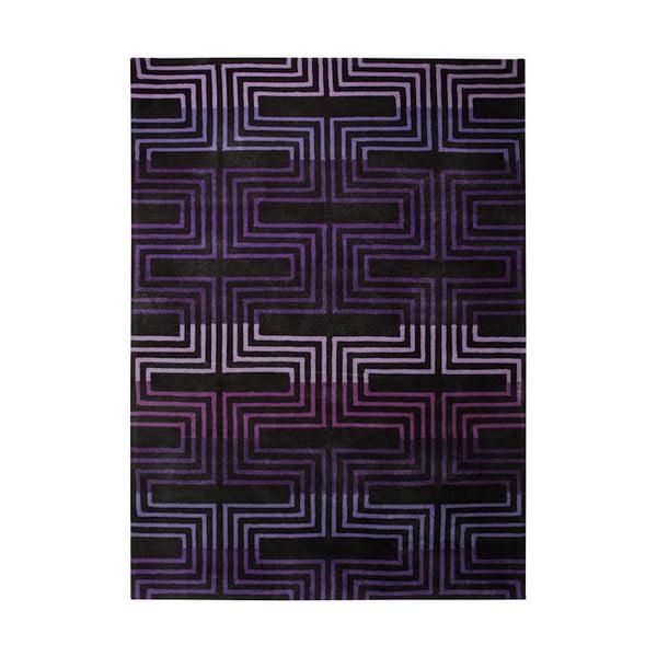 Koberec Esprit Matrix Purple, 170x240 cm