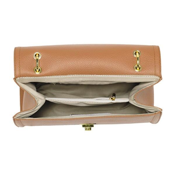 Kožená kabelka Andrea Cardone 933 Havana