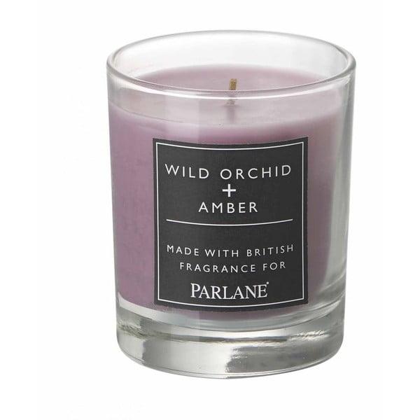 Svíčka ve skle Parlane Orchid & Amber