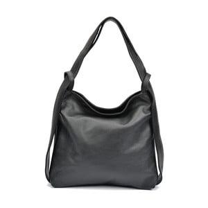Černá kožená kabelka Isabella Rhea Stella
