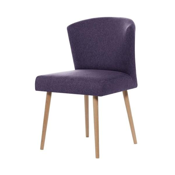 Fialová jedálenská stolička Rodier Richter
